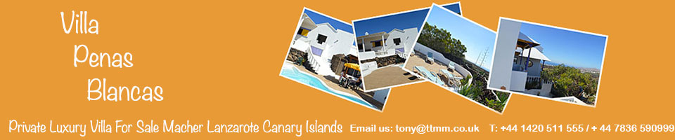Holiday Villa Lanzarote